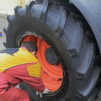 Réparation pneu agro